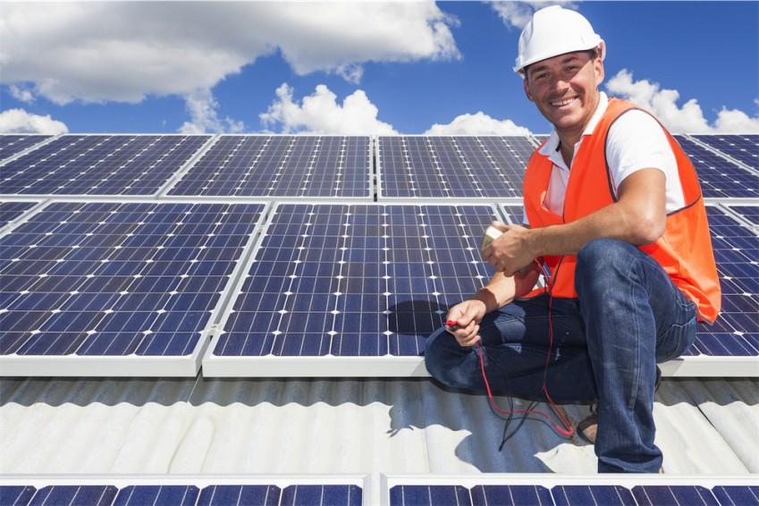 home solar panels professionals